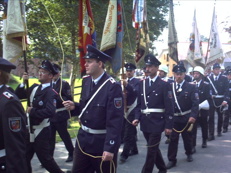 Kreis Feuerwehrtag 2008 bei uns in Sprakebüll.